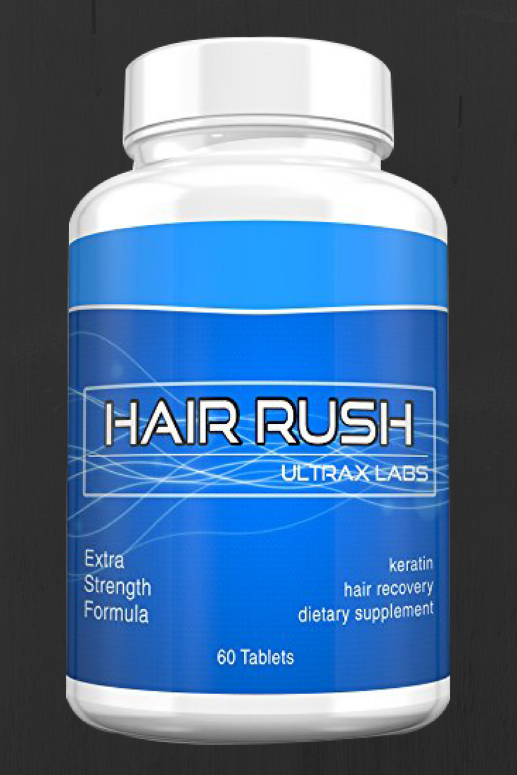 Ultrax Labs Hair Rush Maxx Hair Growth Anti Hair Loss Nutrient Solubilized Keratin Vitamin Sup Vitamins For Hair Growth Anti Hair Loss Fast Hair Growth Oil
