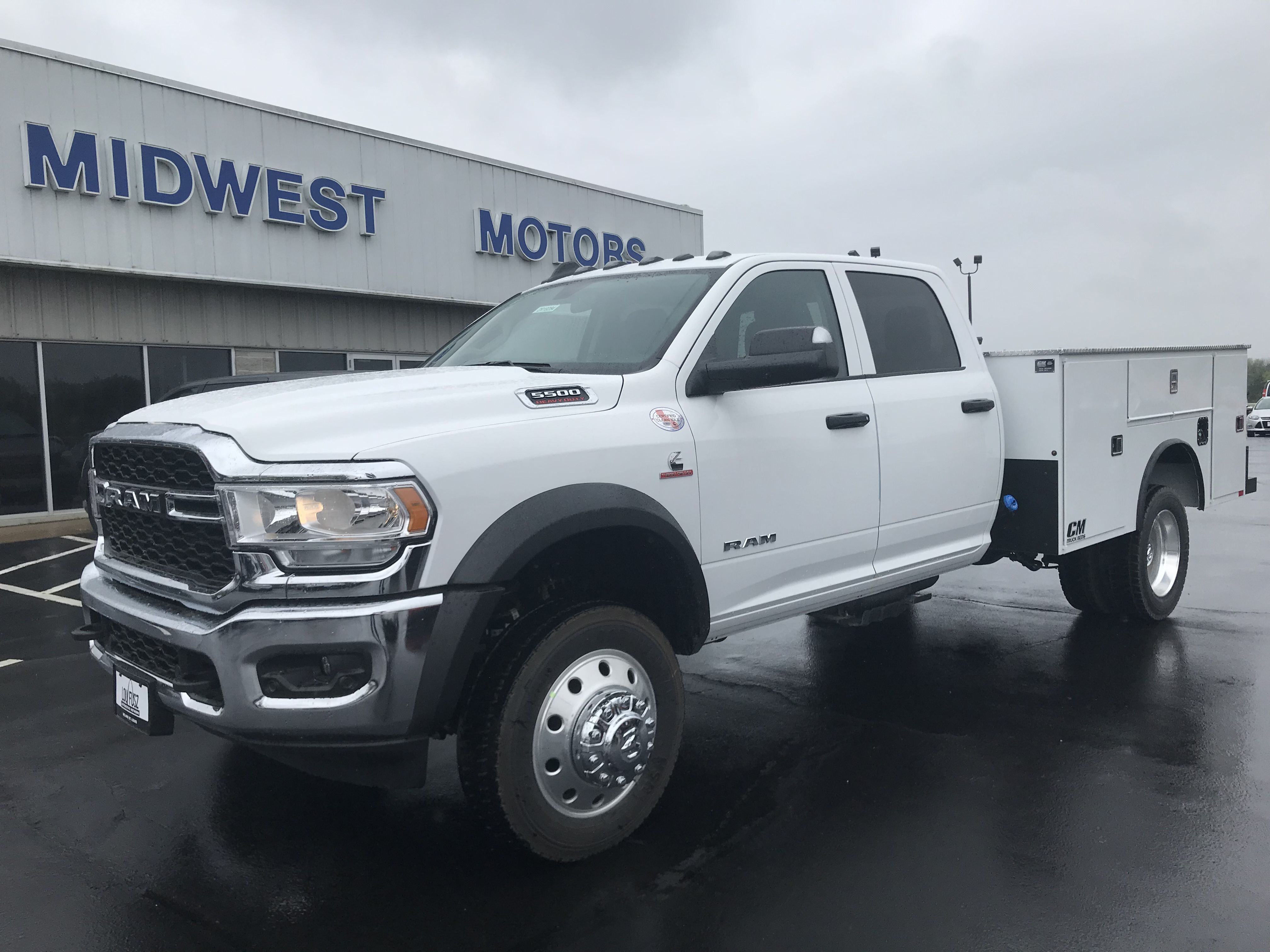 All New Ram With Cm Service Body Midwest Motors Has Over 200