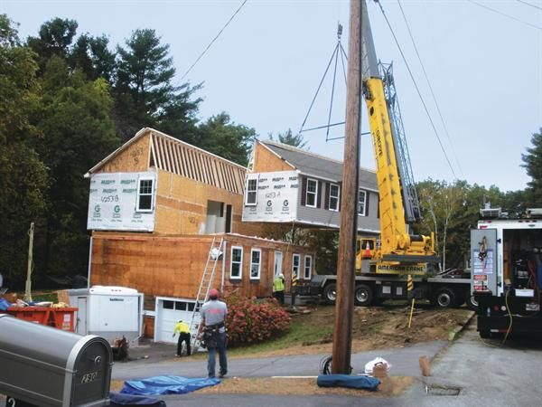 Modular housing remodel 2nd floor addition 80 000 for Second floor addition ideas