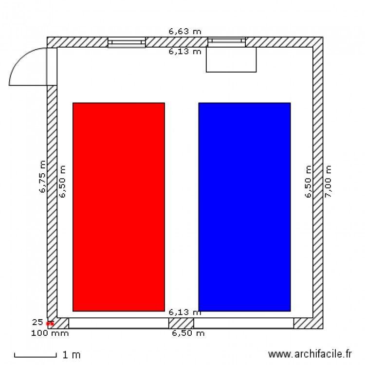 DOUBLE GARAGE 7 X 6.5. Plan de 1 pièce et 41 m2 | Chalet | Pinterest