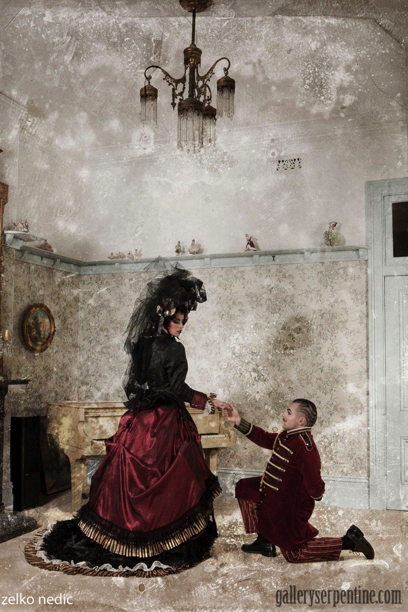 Where Medieval Meets Faery Meets Victorian - we love themed weddings!