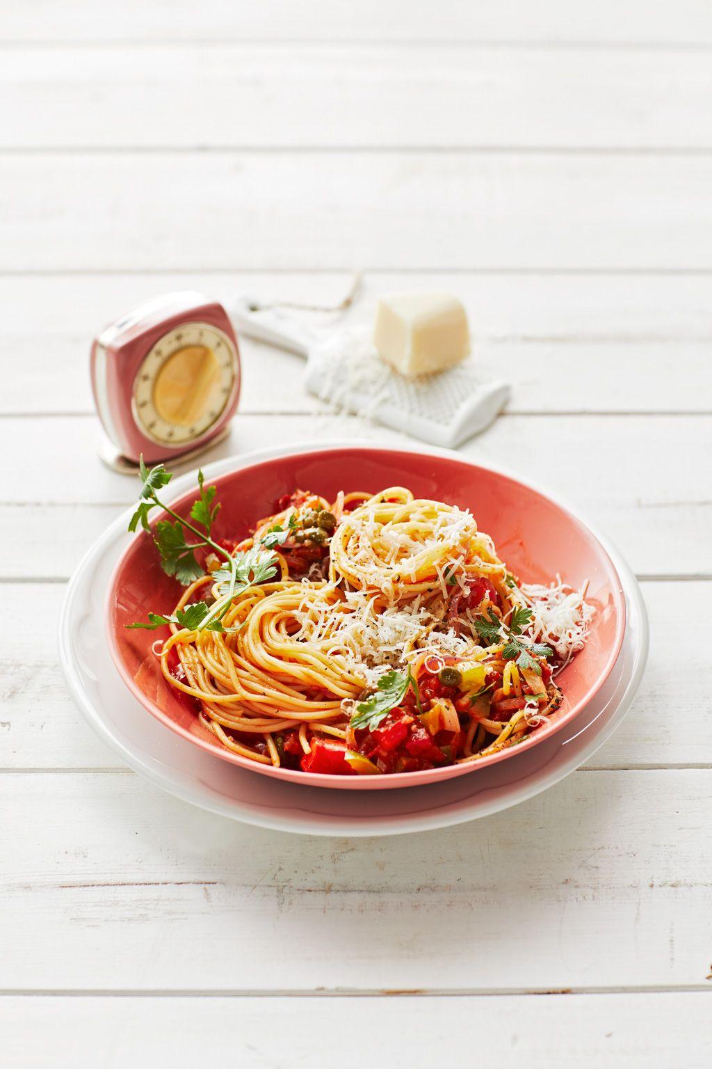 Spaghetti auf kreolische Art | Rezept | German Cooking ...