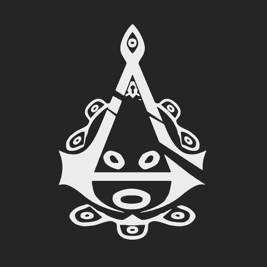 An assassins creed logo inspired by the taino symbol for the sun an assassins creed logo inspired by the taino symbol for the biocorpaavc Images