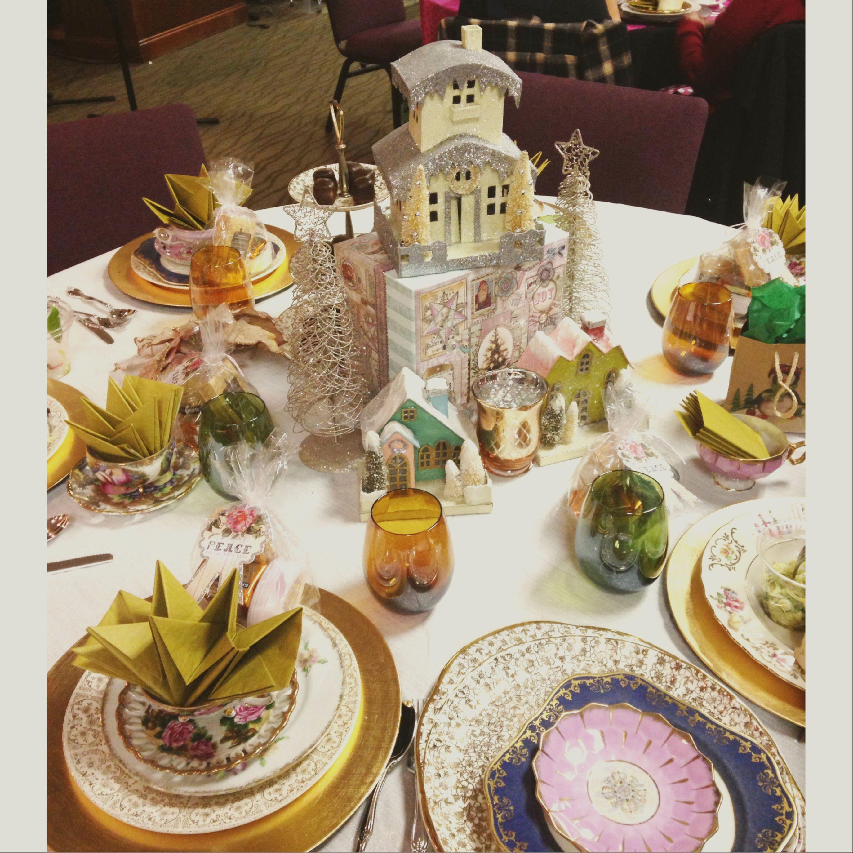 Christmas Tea Party Ideas: Church Christmas Tea Party☕️