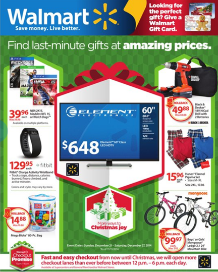 Walmart Has A New Ad Flyer Out Full Of Last Minute Gift Ideas Last Minute Gifts Walmart Card Walmart