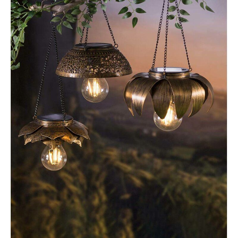 Pin By Irma Baker On Chambre Parentale Hanging Solar Lights Solar Lights Solar Light Crafts