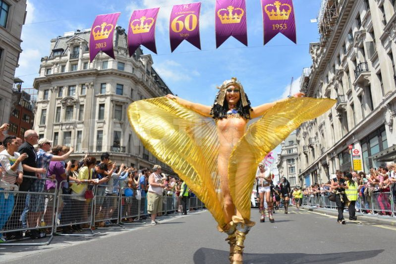 Image result for london pride parade