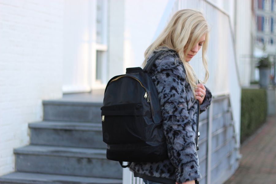 Mipac backpack / by blogger LaChanna