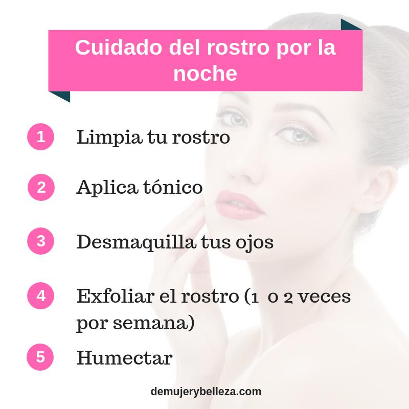 pasos para realizar una limpieza facial