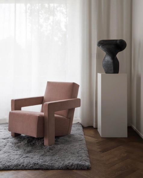 Cassina Utrech Chair  单人椅  Pinterest  Interiors Alluring Chairs Design For Living Room Inspiration Design