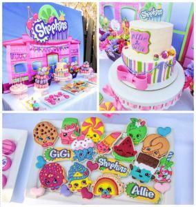 temas para fiestas infantiles shopkins ideas cumpleaos infantiles pinterest - Ideas Cumpleaos