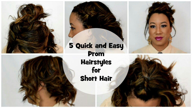 Prom hairstyles short hair youtube vid please like u subscribe
