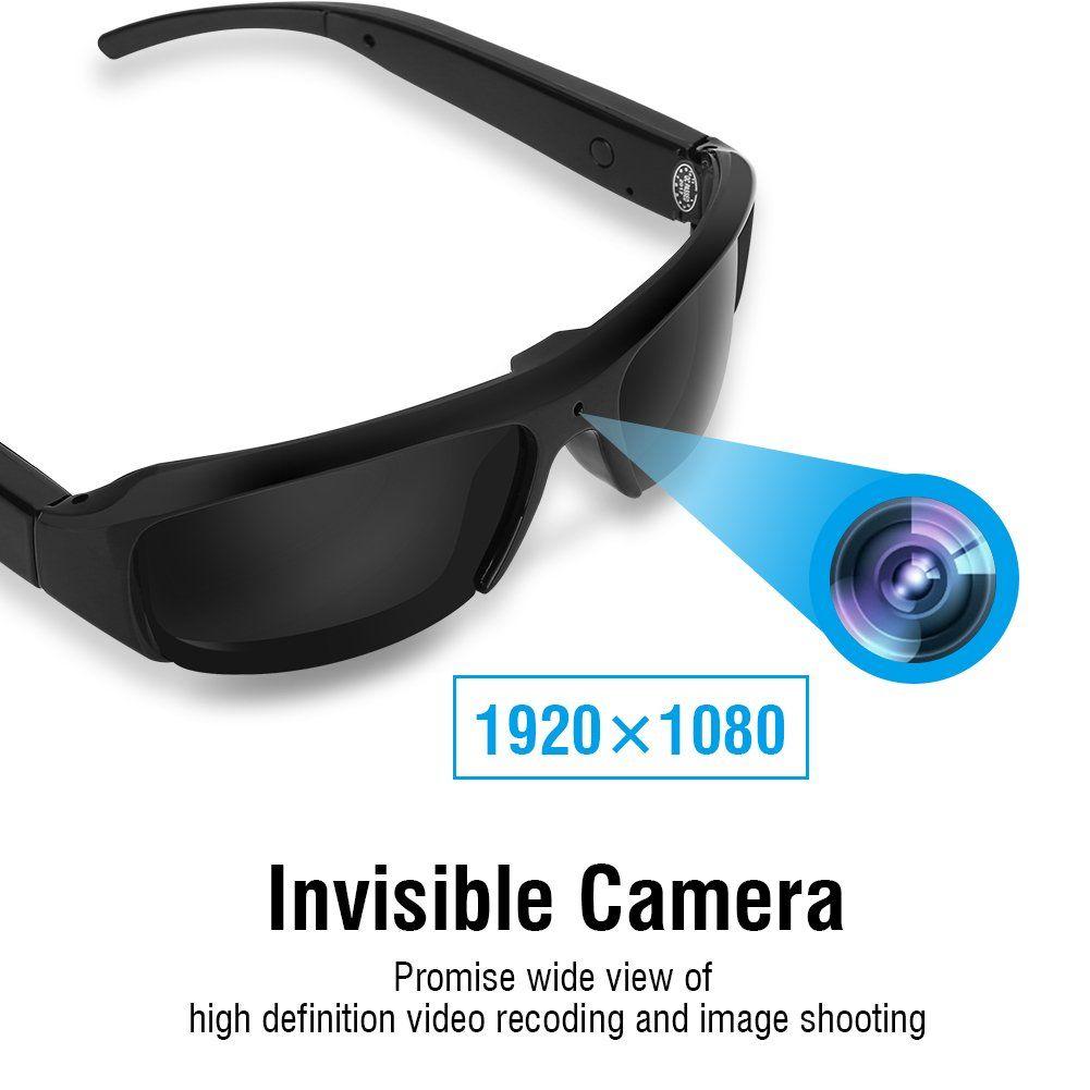 1080P Mini HD Brille Kamera Video Recorder Eyewear Sonnenbrille 1920*1080 USB HC