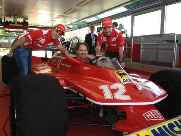 Épinglé sur Gilles Villeneuve Ferrari