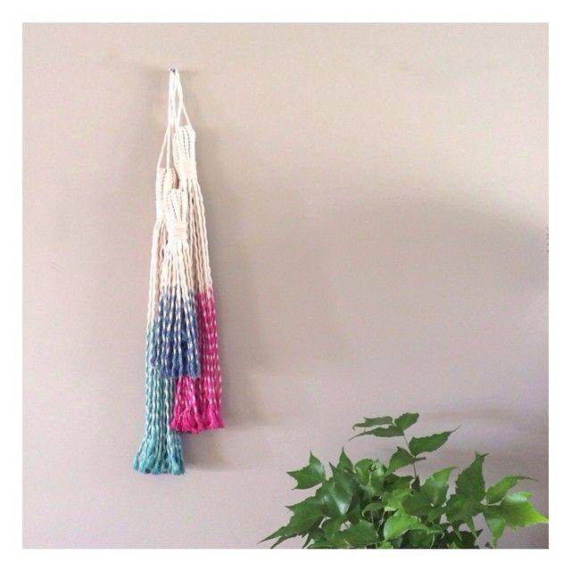 Tassels. Large and small coming soon #tassels #interiorstyling #kidsinteriors #kidsrooms #walldecor #interiordecorating