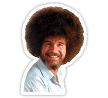 Stickers Bob Ross Stickers Aesthetic Stickers