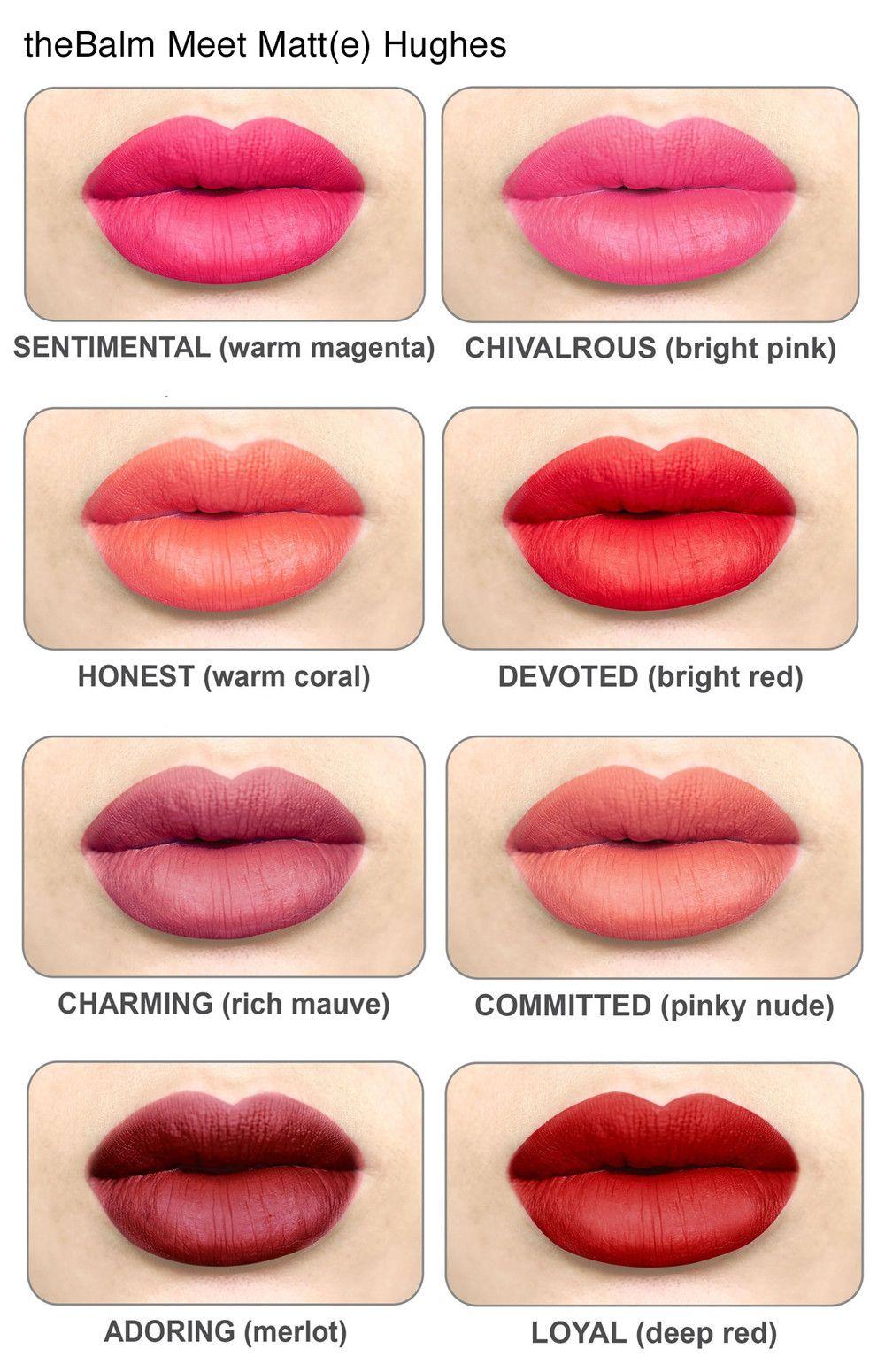 the balm meet matte hughes lip color chivalrous