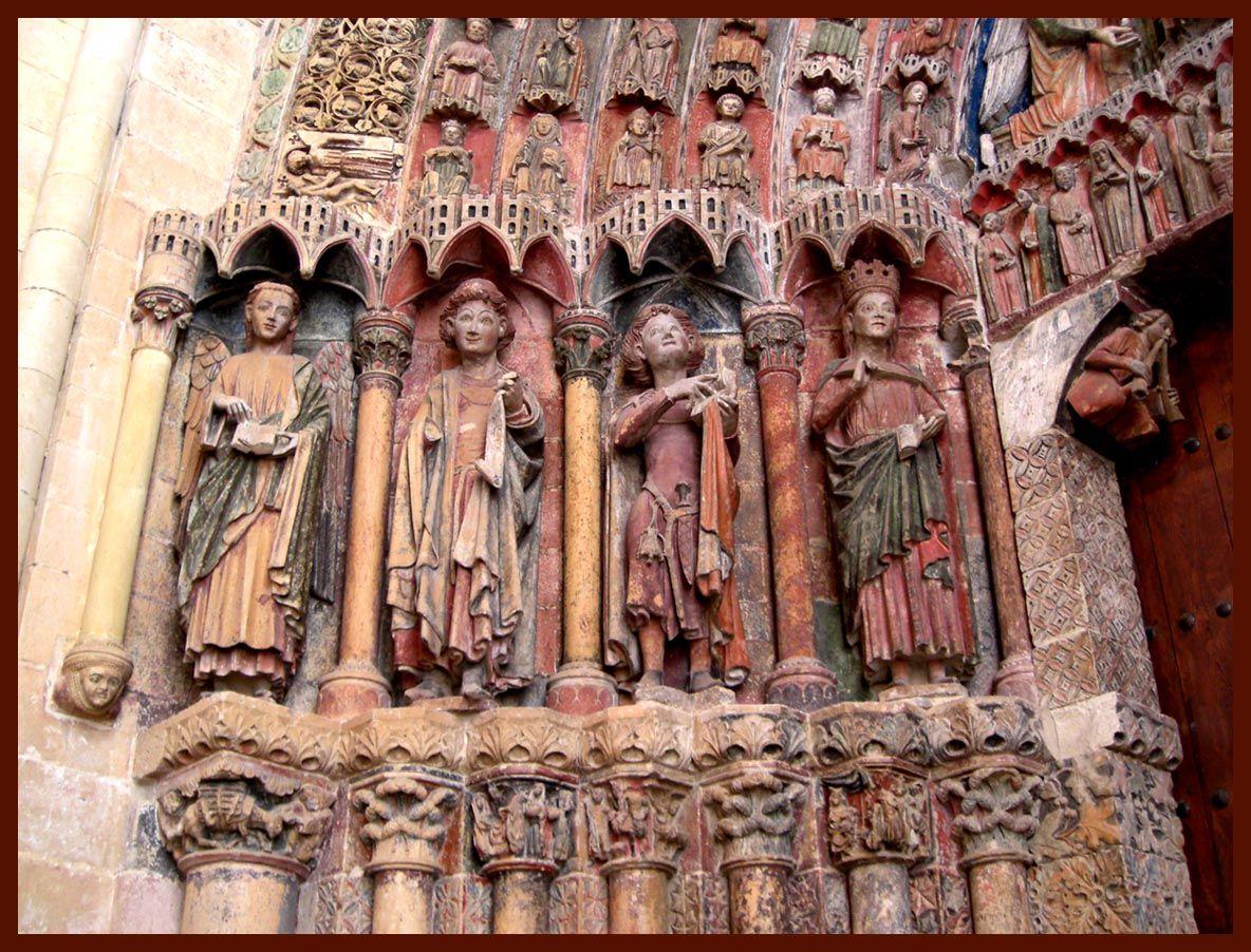 Portico de la majestad de la colegiata de toro zamora - Alfombras portico ...