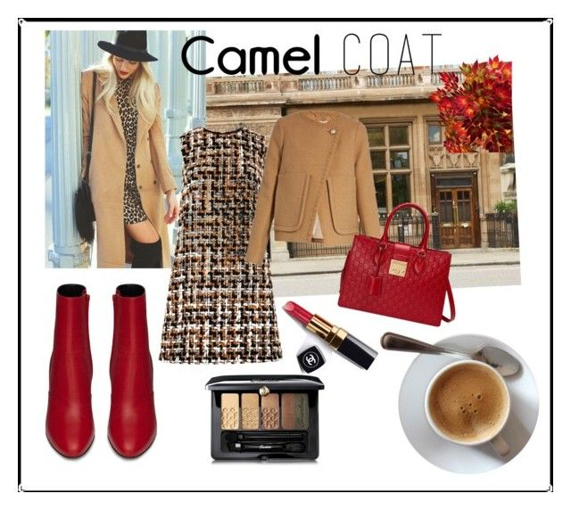 """""""Untitled #91"""" by wakawaka on Polyvore featuring Yves Saint Laurent, Chanel, Dolce&Gabbana, Guerlain, See by Chloé and Gucci"""