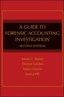 A Guide to Forensic Accounting Investigation, by Thomas Golden et al., traveled to Colorado in April 2012 http://libcat.bentley.edu/record=b1311913~S0