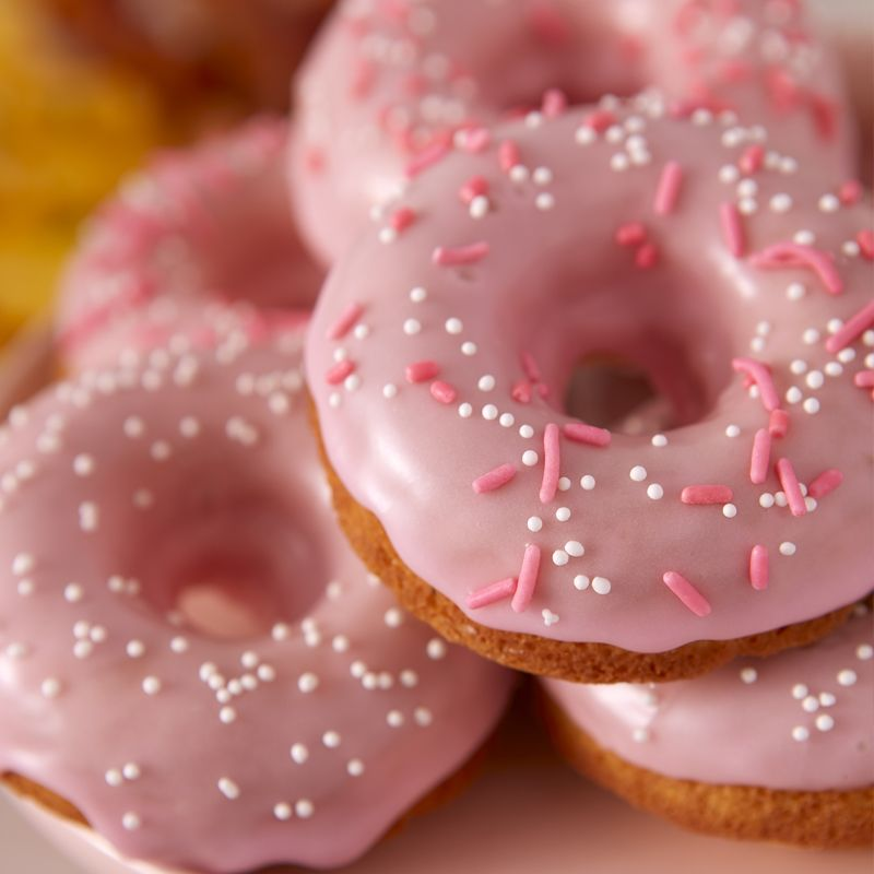 Galentines Day Donuts Pink Donuts Valentines Ideas Baking