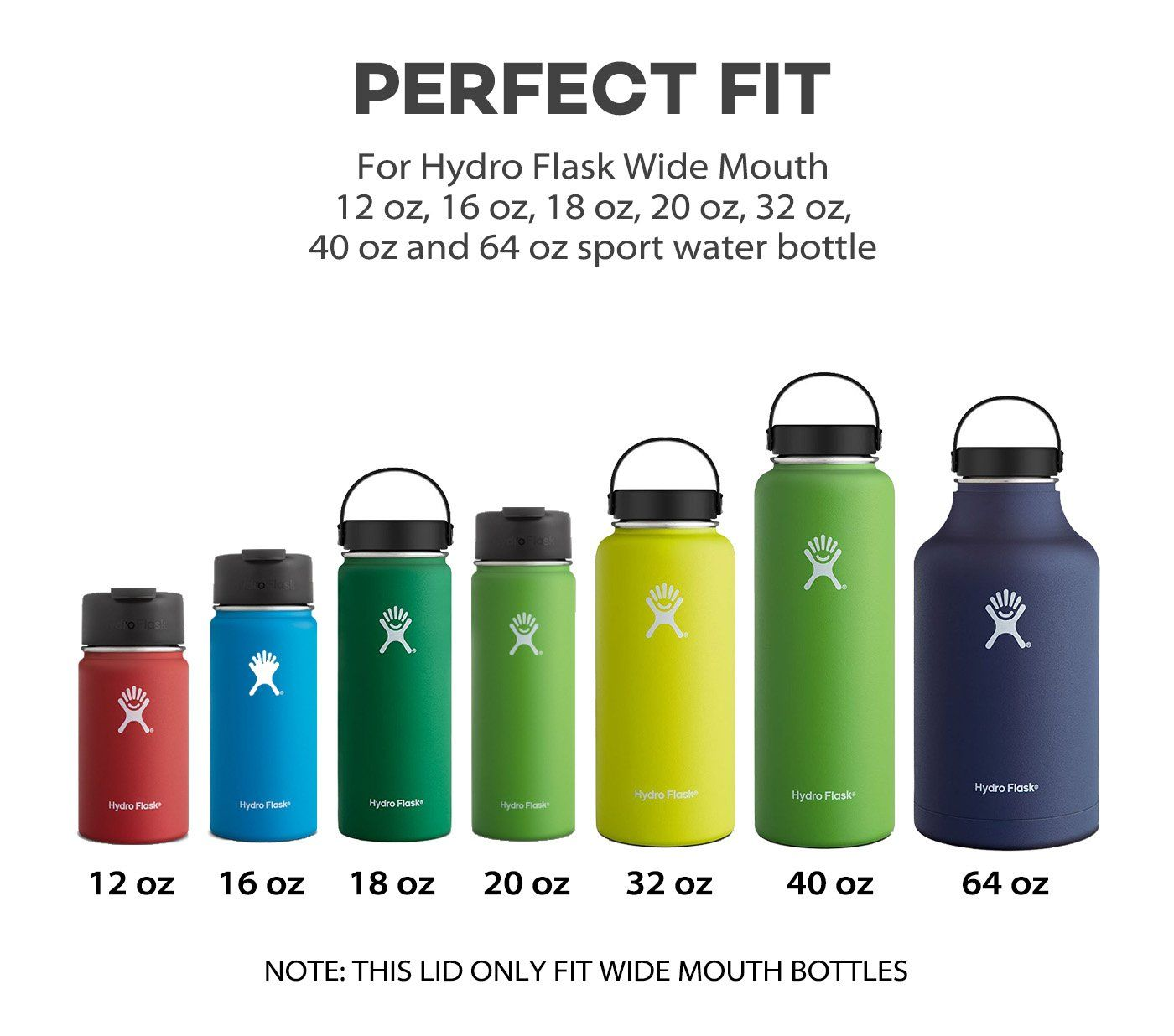 Vanteen Straw Lid With Handle For Hydro Flask Wide Mouth Sports Water Bottle Black Read More At The Image Link It Hydroflask Hydro Flask Water Bottle Flask
