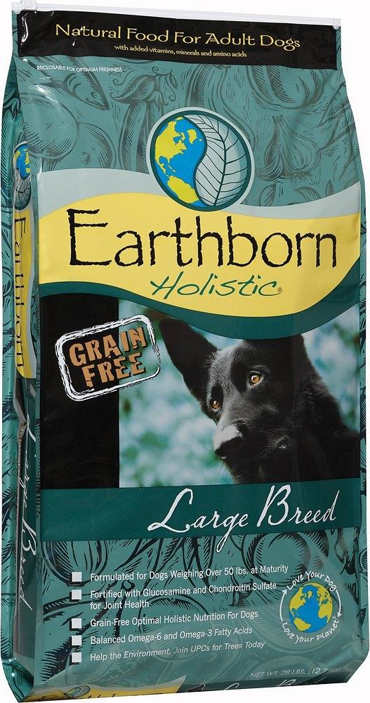 Earthborn Holistic Large Breed Grain Free Dry Dog Food Large Dog