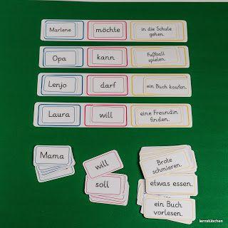 Lernstübchen: Sätze bilden .... und andere gute Ideen auf der Seite
