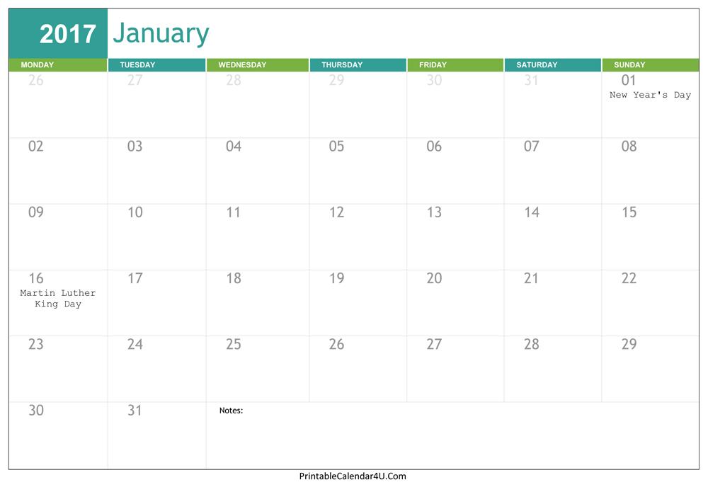 january 2018 calendar editable january 2018 calendar pinterest
