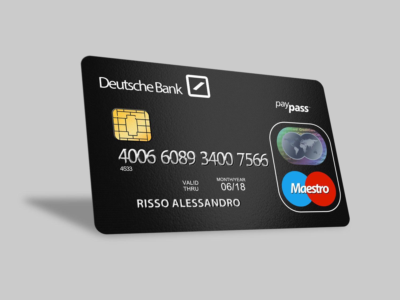 Mockup Credit Card psd Credit card design, Free credit