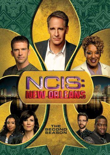 Ncis New Orleans Season Two 6 Discs Dvd Serie De Televisao
