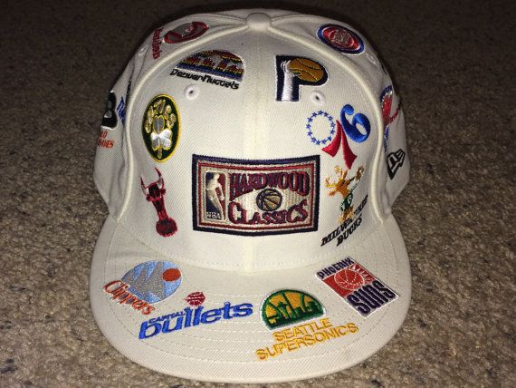 Vintage New Era Hardwood Classics NBA Teams Cap Retro Basketball ... a24dbdf1efc7