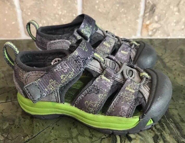836296cf209 KEEN Toddler Newport H2 Sandals Monster Size 6 US Green Grey Boys Unisex  Girls | eBay