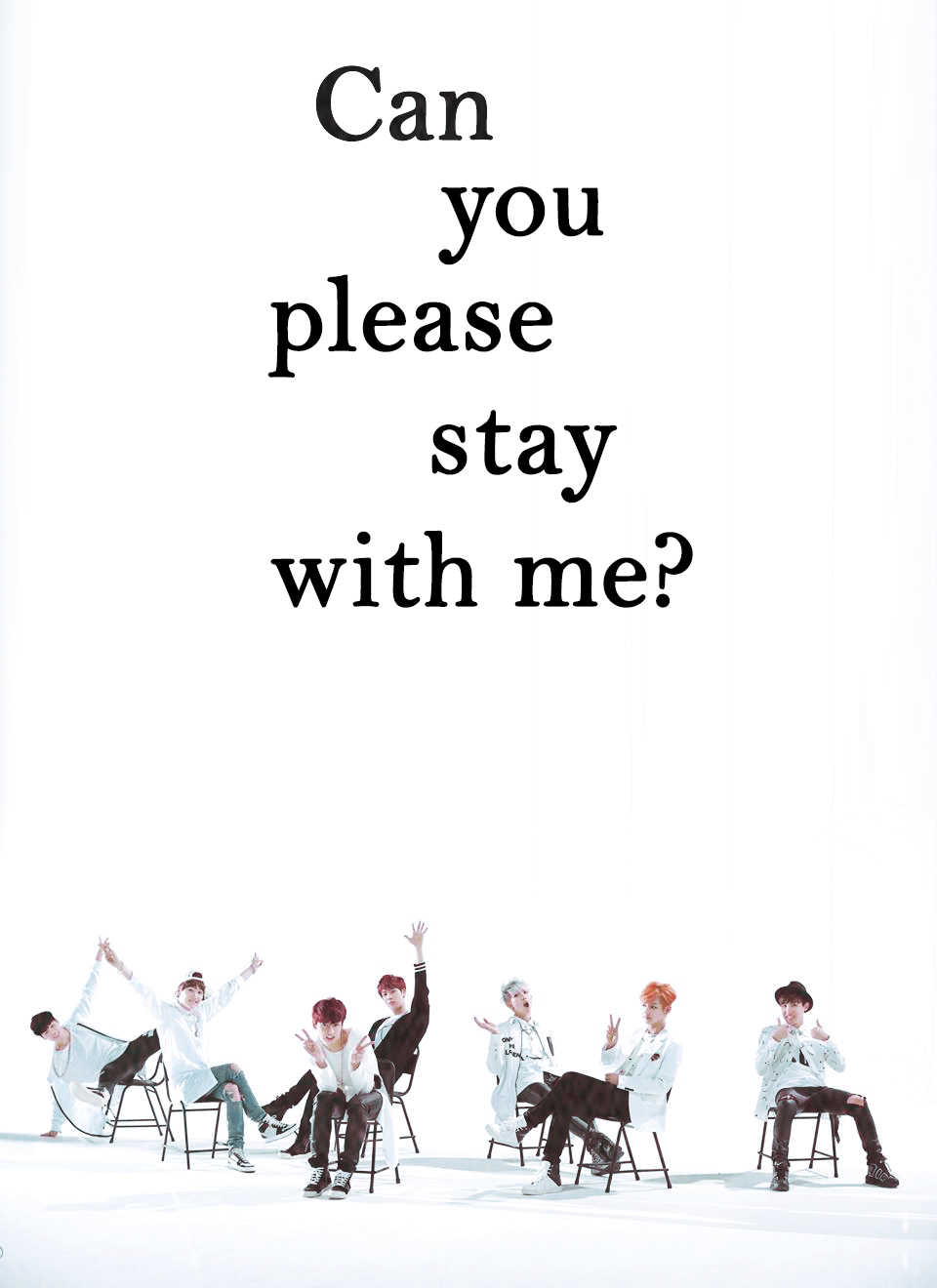 Just One Day Bts Yes Yes I Would Live To Stay With You Bts