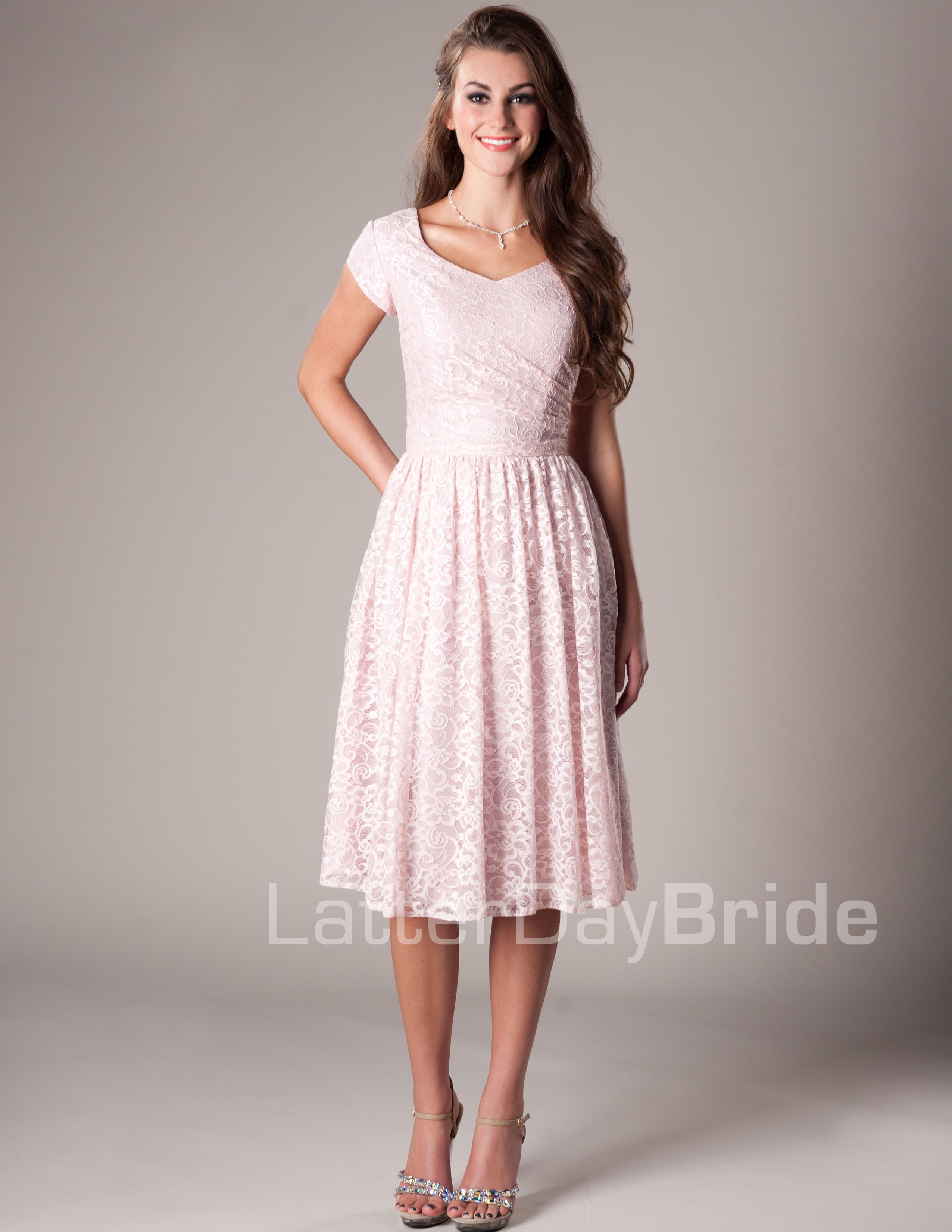 Modest dress websites - Darby Modest Mormon Lds Bridesmaid Dress The Pomegranate Or Iron Would Be Cute And Go