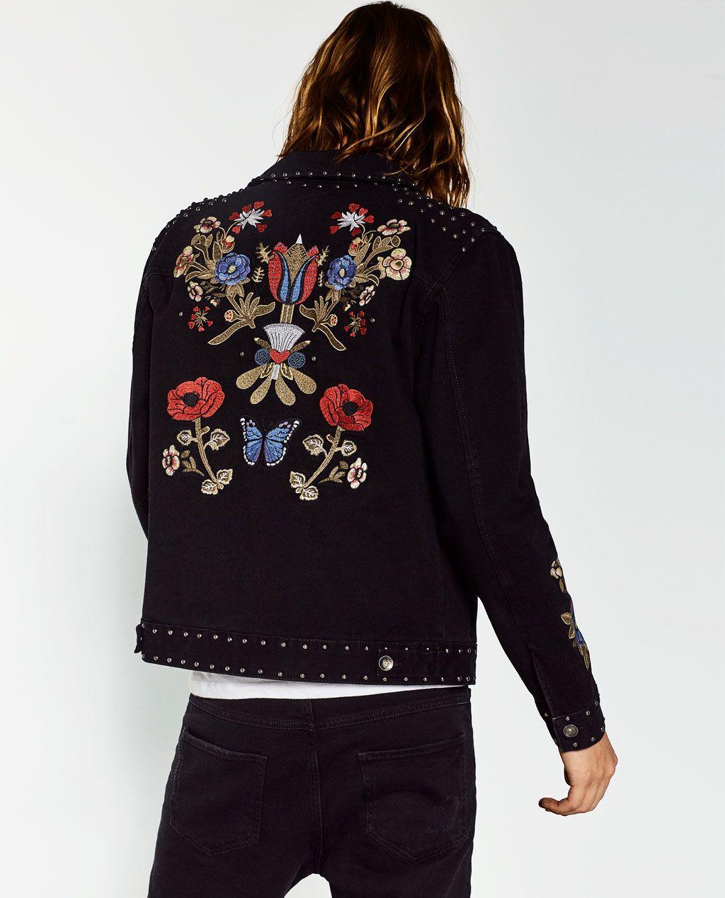New Denim Jacket Men 2017 Fashion American Embroidery Design Mens Slim Fit Jean  Jacket Casual Stylish