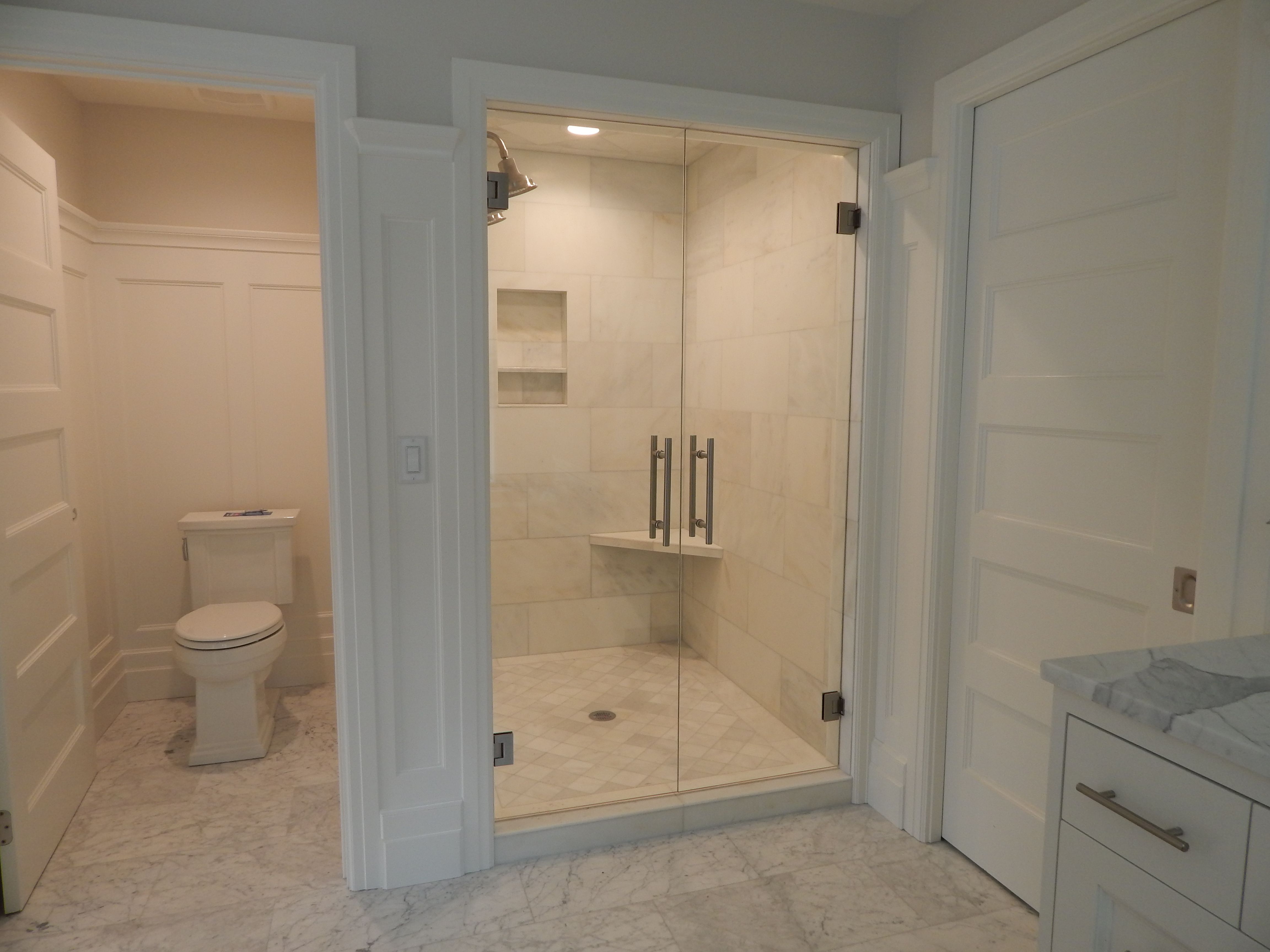 Glass French Door Shower Doors Like In The Grand Executive Suite At
