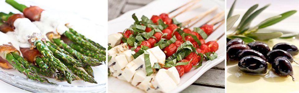 Finger Food Menu - Gourmet Tarts Catering - Mosman,St Ives & North Shore Balgowlah, Manly Sydney City
