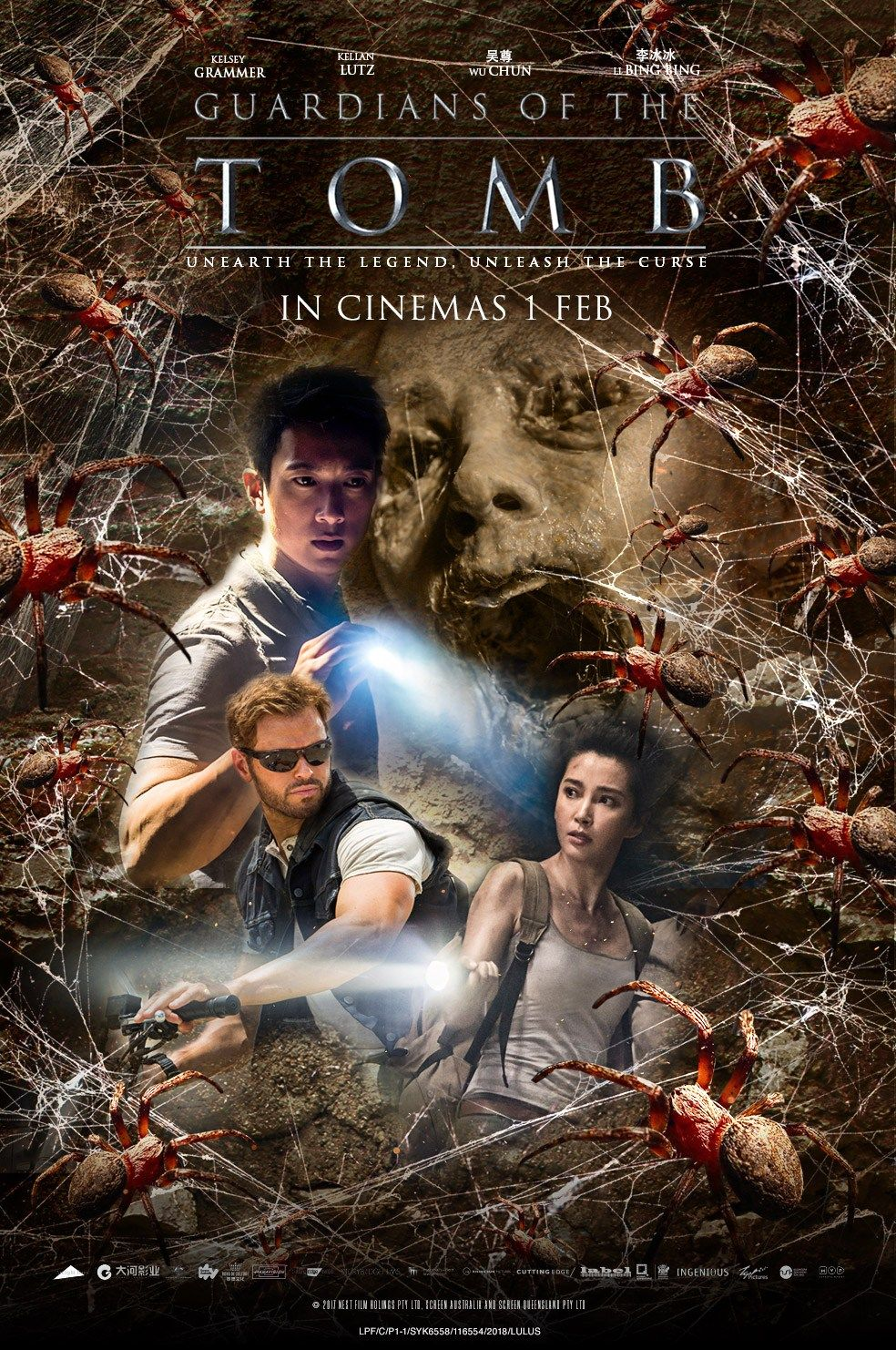 Image result for GUARDIANS OF THE TOMB ( 2018 ) poster GIF