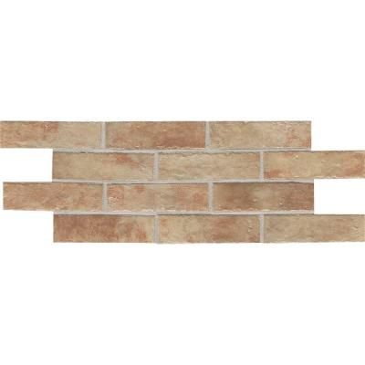 Daltile Union Square Terrace Beige 4 In Ceramic Paver Floor And Wall Tile Sq Case The Home Depot