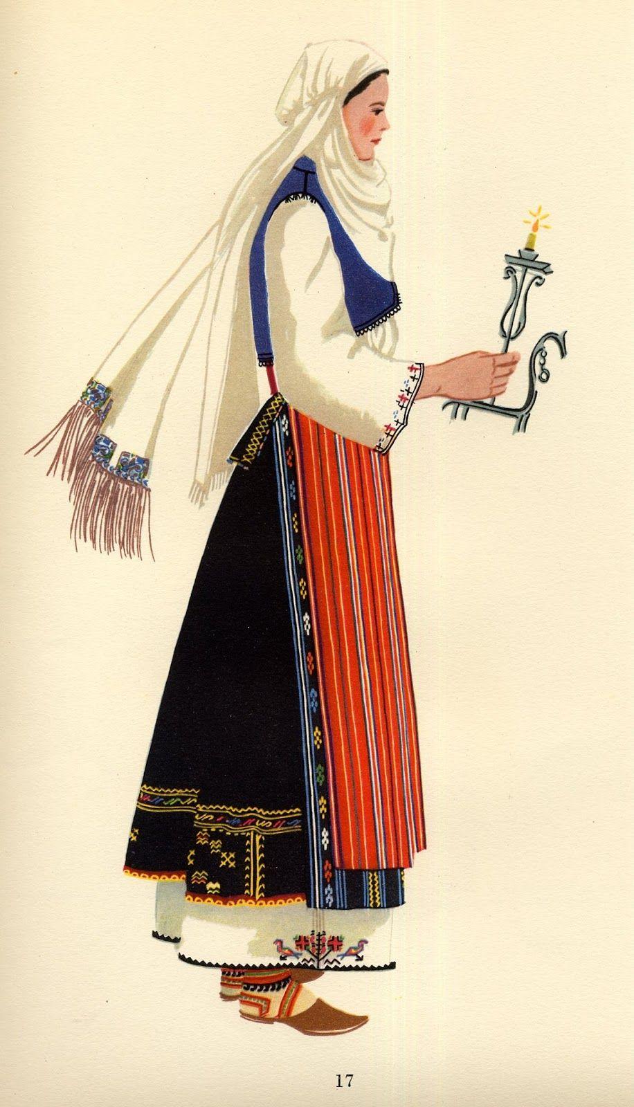Bulgaria Bulgarian Clothing Folk Dresses Folk Clothing