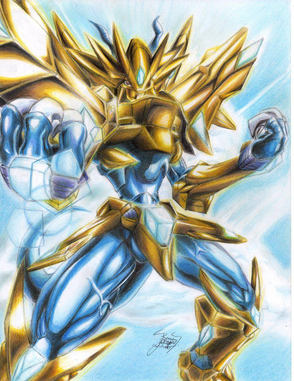 Magnamon X by jareokami | Digimon | Digimon, Digimon ...