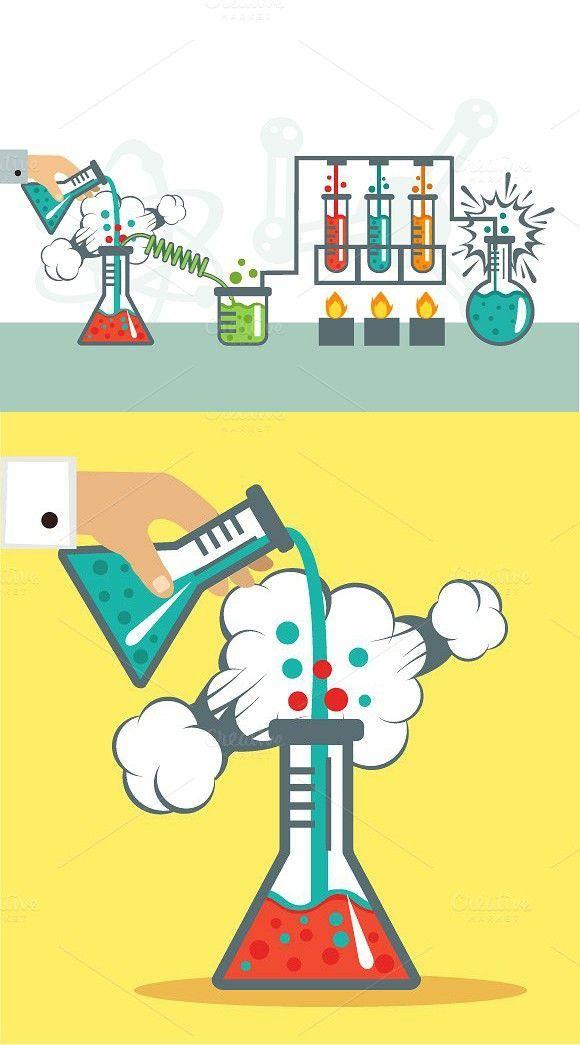 Medical Infographic : Chemistry Illustration. Medical