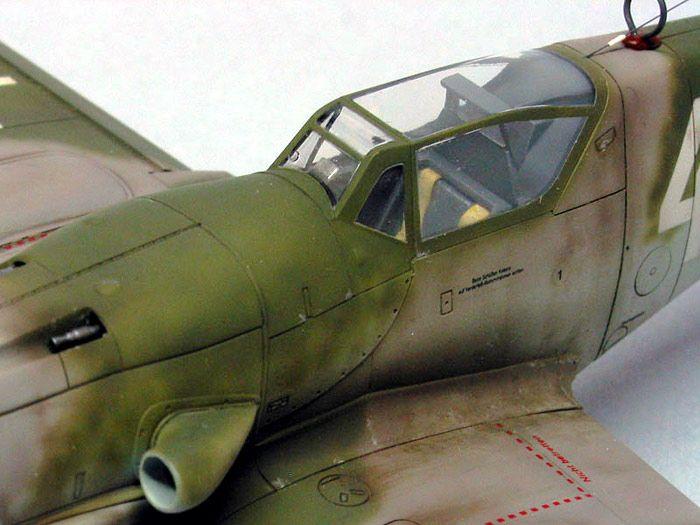 Messerschmitt Bf 109G-10 by Tony Bell (Hasegawa 1/48)