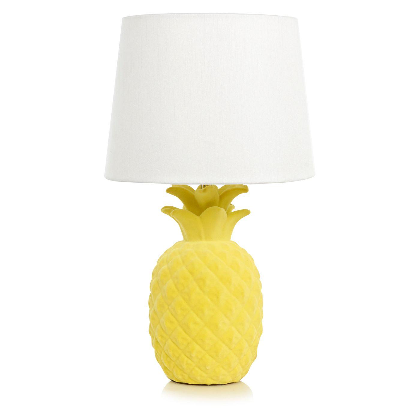 Home Prince's Trust Pineapple Table Lamp Lighting
