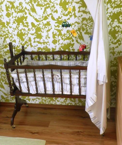 Babywiege Stubenwagen Antik Holz Babybetten Babywiege Baby
