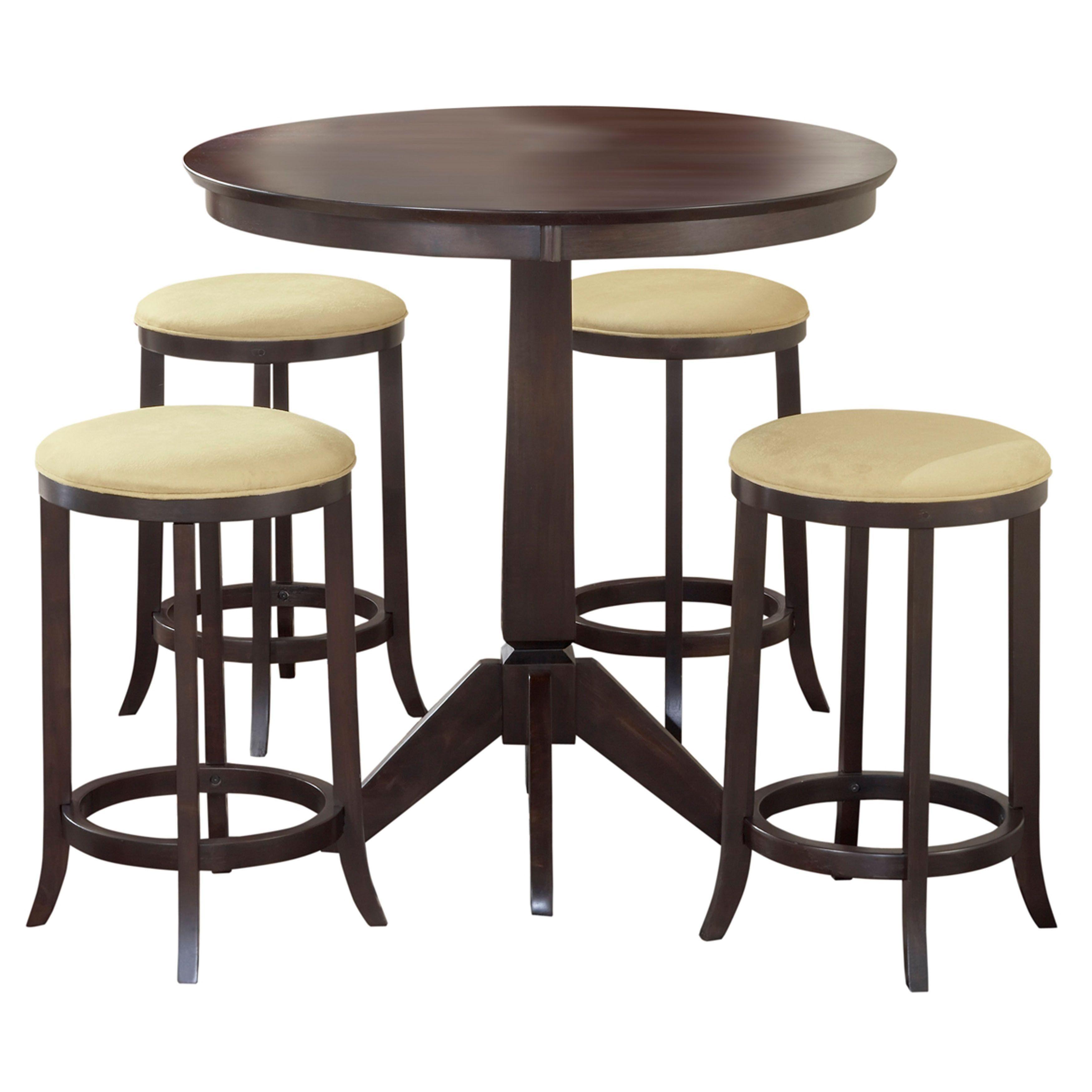 Hillsdale Furniture Tiburon Espresso Finish Wood Pub Table