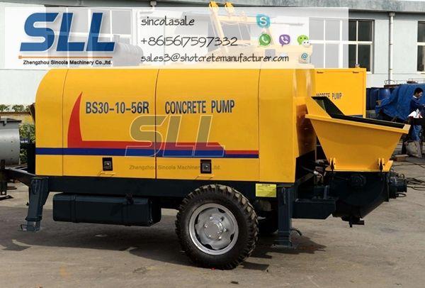 concrete pump 30m3/h