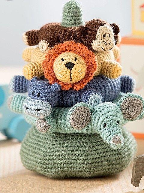 Baby Stacks - 6 Easy Toys to Crochet