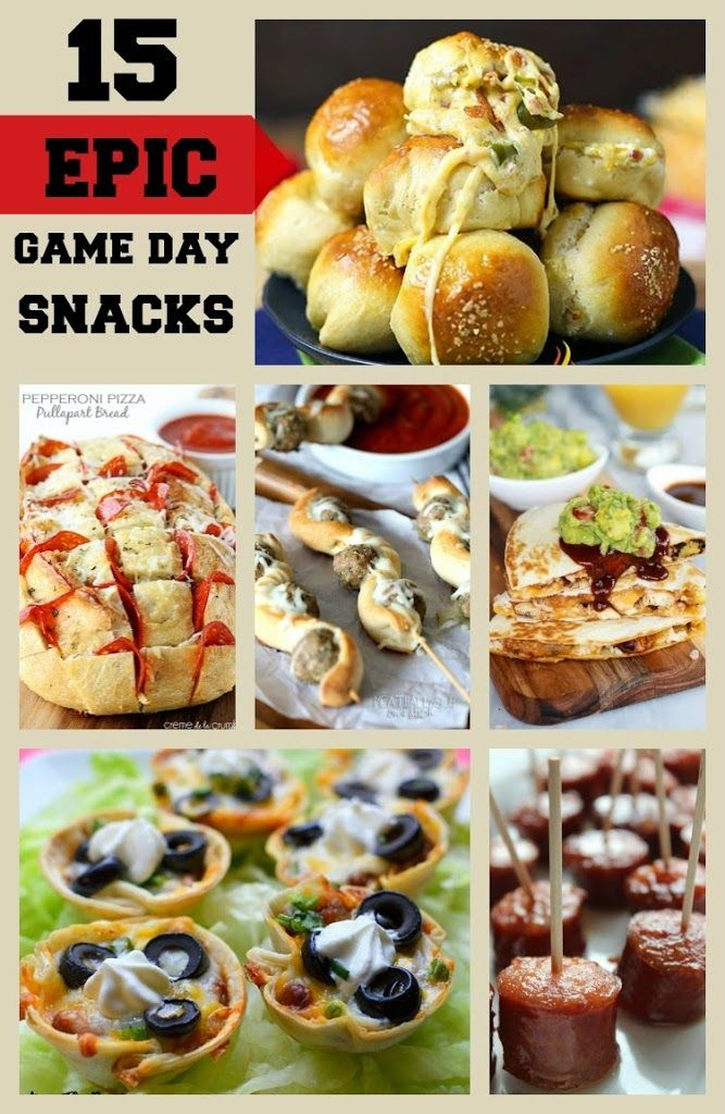 15 Epic Game Day Snacks — Perfect for Any Party! Game